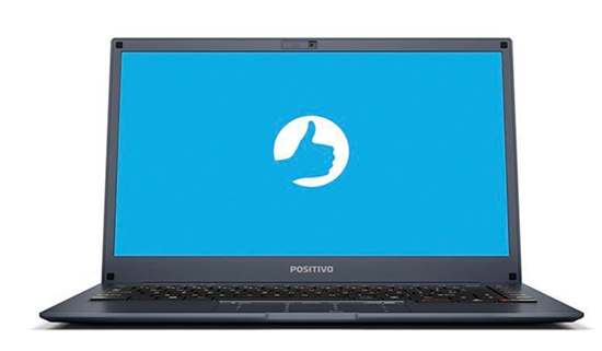 """Picture of NOTEBOOK POSITIVO MOTION Q4128B 14"""" HD, ATOM QUAD-CORE, 4GB, 128GB SSD, EMMC 64GB NUVEM, WIN 10 HOME - 1 ANO DEPOT"""