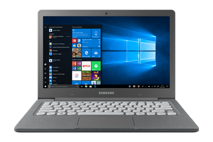 Imagem de NOTEBOOK SAMSUNG FLASH F30, DUAL CORE, WIN 10 H, 4GB, 64GB SSD, 13.3'' FULL HD, GRAFITE