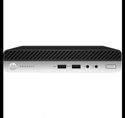 Imagem de MINI PC HP PRODESK 400 G5 DM, I3 9100T, 4GB DDR4 2666, SSD 128GB, WIRELESS + BLUETOOTH, WIN 10 PRO - 1 ANO ON SITE
