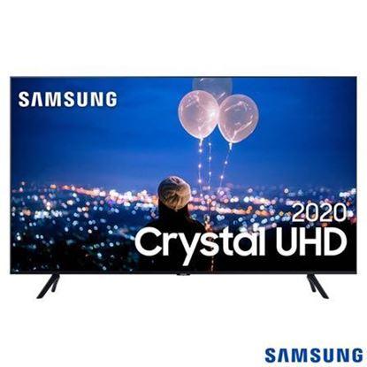 "Imagem de TV SAMSUNG SMART CRYSTAL UHD 4K TU7000 55"", BORDA ULTRAFINA, CONTROLE REMOTO UNICO, BLUETOOTH"
