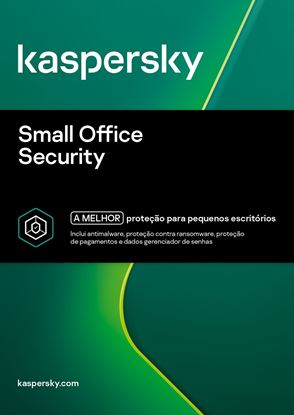 Imagem de KASPERSKY SMALL OFFICE SECURITY 1 USUARIO 2 ANOS BR DOWNLOAD 25 a 49 USUARIOS - COMPRA MINIMA 25 UNIDADES.