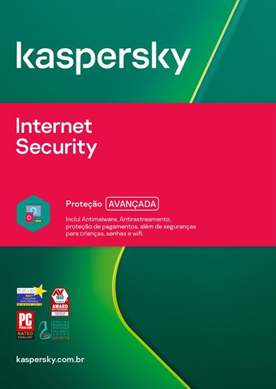Picture of KASPERSKY INTERNET SECURITY 5 DISPOSITIVOS 1 ANO BR DOWNLOAD