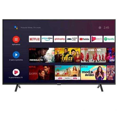 "Imagem de TV SMART PANASONIC LED 55"" 4K ULTRA HD, 3 HDMI, 2 USB, WI-FI, HDR, ANDROID TV, MODO HOTEL, CHROMECAST - 1 ANO DE GARANTIA"