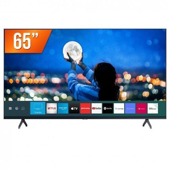 """Picture of TV SAMSUNG BUSINESS SMART UHD 4K BE65A-H , LED 65"""", 3 HDMI, 1 USB, TIZEN"""