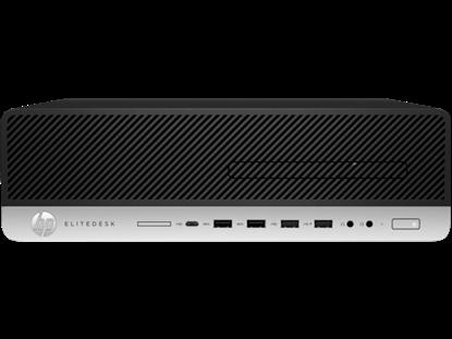 Imagem de COMPUTADOR HP ELITEDESK 800 G5 SFF - I5 9500 - 8GB DDR4 2666 - SSD 256GB - WIN 10 PRO - GARANTIA 3 ANOS ON SITE