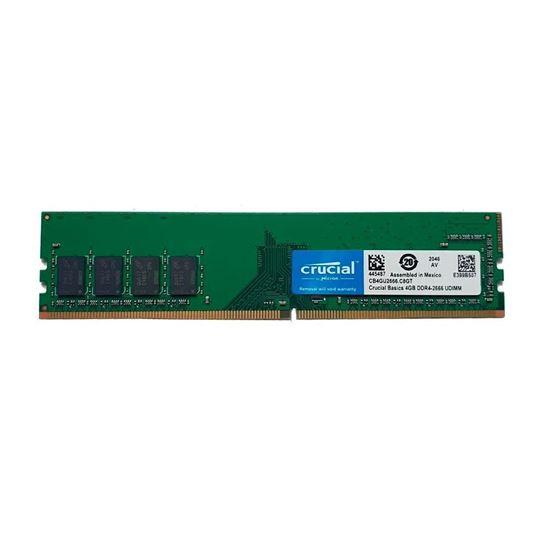 Picture of MEMÓRIA CRUCIAL BASICS DESKTOP 4GB 2666 MHZ, DDR4, CL19 - CB4GU2666