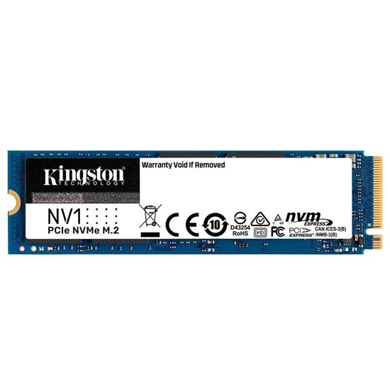 Picture of SSD KINGSTON 500GB NV1 M.2 2280 NVME PCIE 3.0 - SNVS/500G