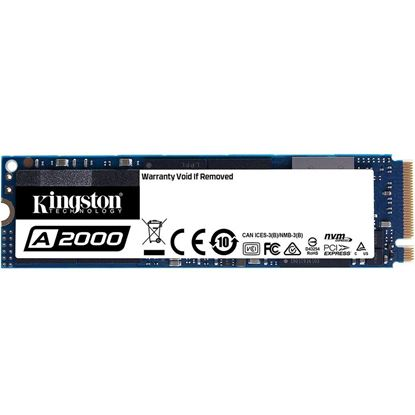 Imagem de SSD KINGSTON 250GB A2000 M.2 2280 NVME PCIE 3.0 - SA2000M8/250G