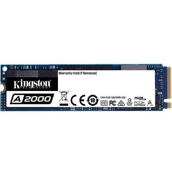 Picture of SSD KINGSTON 250GB A2000 M.2 2280 NVME PCIE 3.0 - SA2000M8/250G