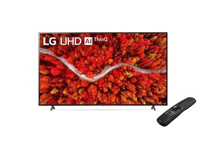 "Imagem de TV LG 55"" LCD/LED IPS UHD SMART 4K 55UP751C0SF HDMI/USB THINQ AI WEBOS 6.0 GOOGLE ASSISTENTE ALEXA"